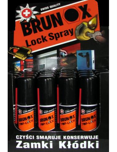 brunox spray do konserwacji zamków i wkładek